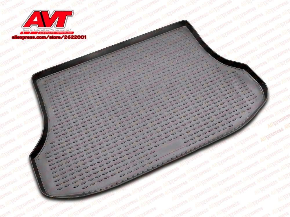 Trunk mats for Kia Sorento 2003 1 pcs rubber rugs non slip rubber font b interior