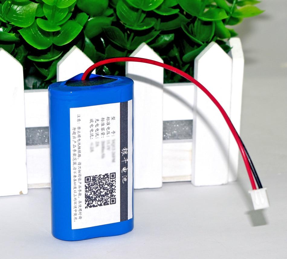 7.2 V/7.4 V/8.4 V 18650 bateria litowa 2600 mA ładowalny akumulator megafon głośnik płyta ochronna
