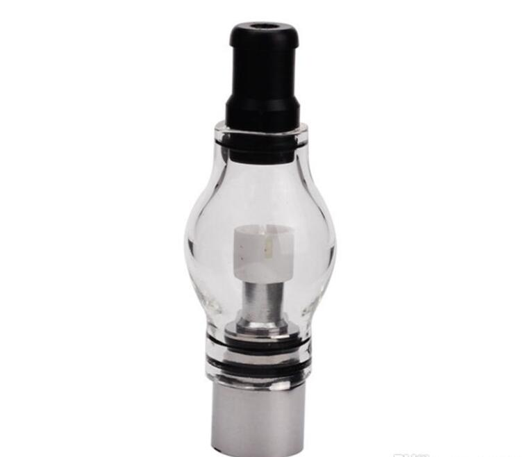 1ps Glass Globe Vaporizer M6 Atomizer Wax dry herb Tank 4ml 510 thread Electronic Cigarettes e Cigs M6 atomizer