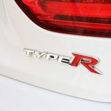 3D Metal Type-R Sticker Emblem