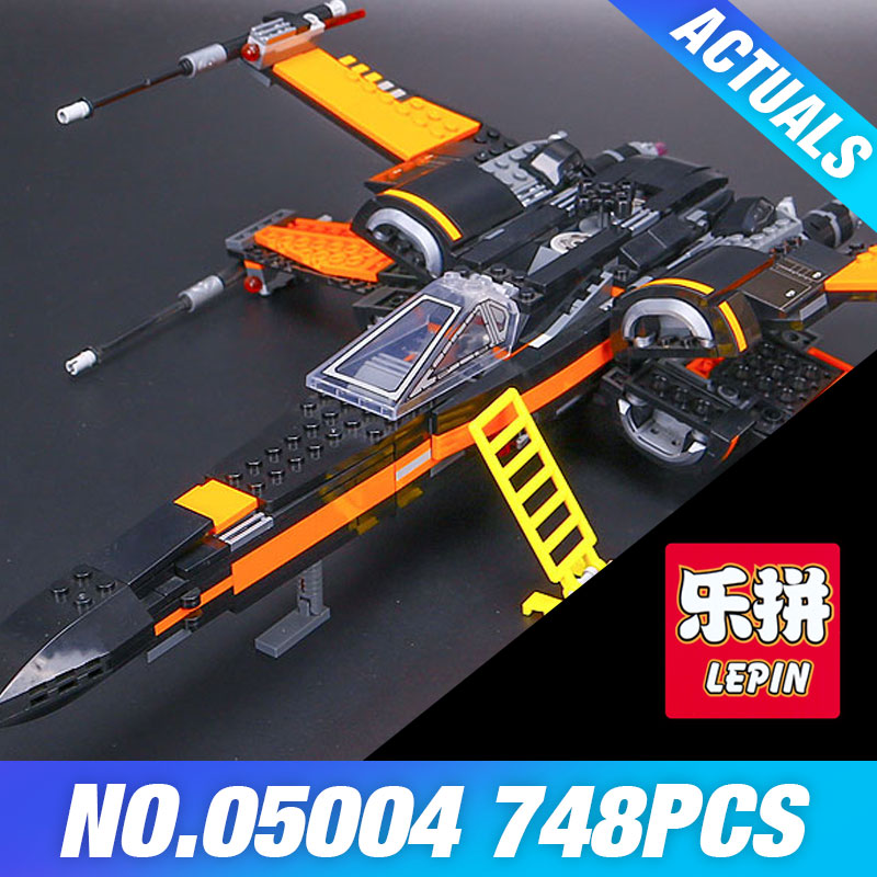2017 LEPIN 05004 Star First Wars Order Poe's X Toys wing Fighter Assembled Building Block Compatible 75102 Educational DIY gift hot sale building blocks assembled star first wars order poe s x toys wing fighter compatible lepins educational toys diy gift