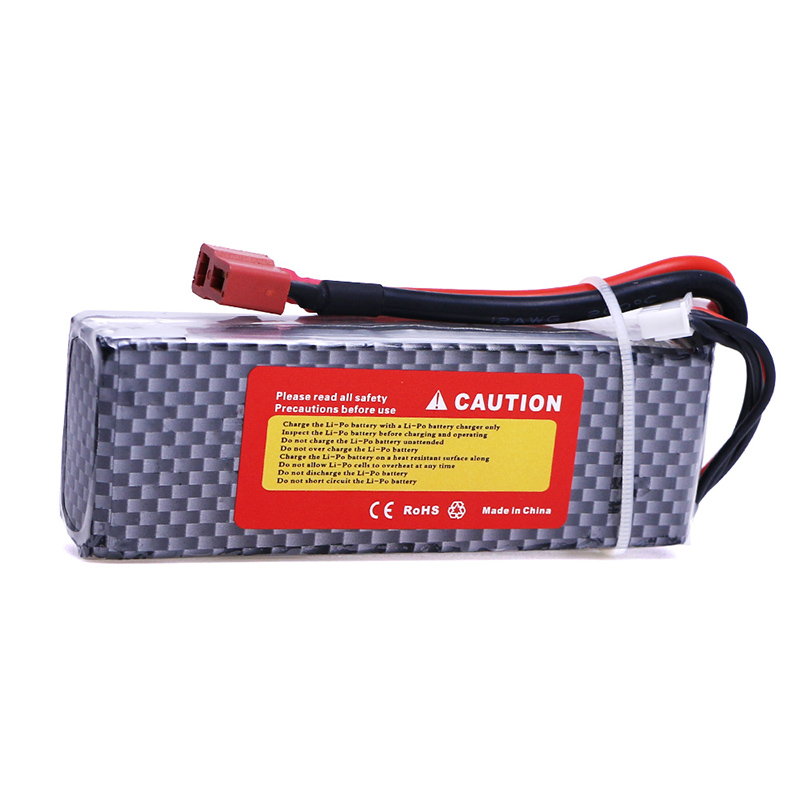 2 pcs 11.1V 2200mAh 30C LiPo Batterie 3 S avec XT60 Plug pour RC Quadcopter Hlicoptre Av ...