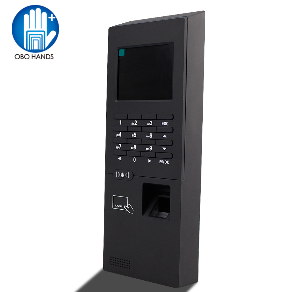 2.8 inch Standalone Fingerprint Reader Time Attendance Machine RFID Finger Lock Access Control Password Unlock For Entry System gprs real time fingerprint access guard tour system
