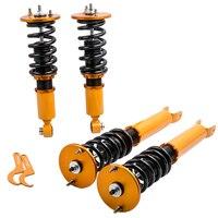 Full set Coilovers Suspension for Nissan Skyline R34 BNR34 Shock Absorber Struts R34 BNR34 GTR RB26 ER34 GTT Shocks