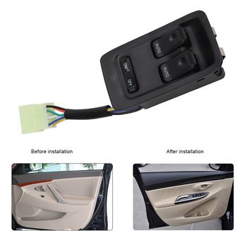 FD14-66-350C Front Left Master Power Window Control Switch for Mazda RX7 RX-7 1993 1994 1995 1996 1997 1998 1999 2000 2001 2002 image