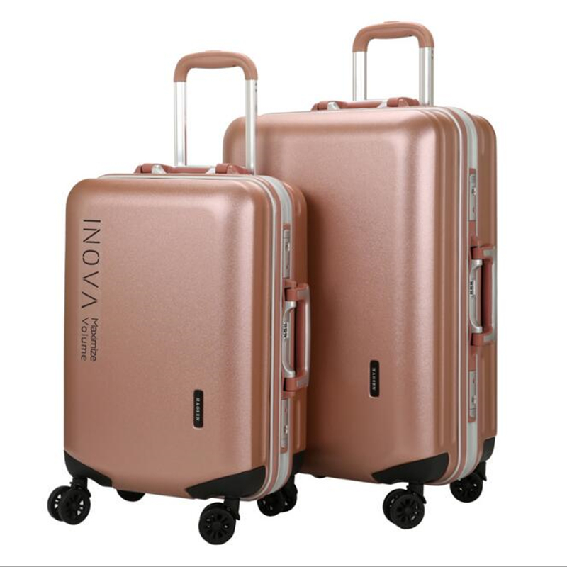 Hot Pelican Brand Business Travel Luggage Large Bag PC Carry on Spinner Wheel Aluminum Frame Suitcase 20 Inch for Women Male