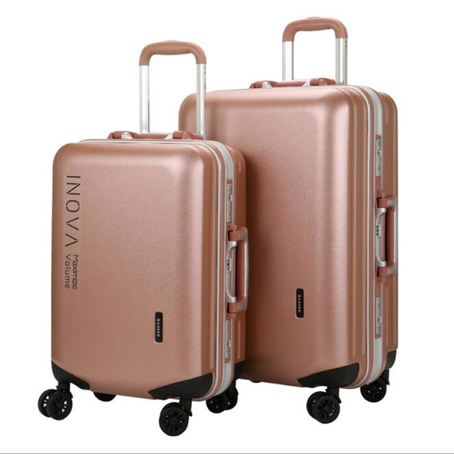 5e6cbe977 Hot Pelican Brand Business Travel Luggage Large Bag PC Carry on Spinner Wheel  Aluminum Frame Suitcase 20 Inch for Women Male. Price: