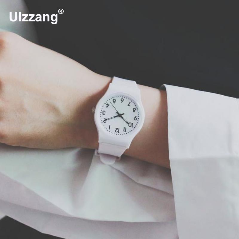 Fashion Cute Jelly Safe Soft Rubber Silicone Quartz Wristwatches Wrist Watch for Women Girls Children Boy Students quartz wristwatches 2017 new fashion colorful boys girls students time electronic digital wrist sport watch gift hot dropship626