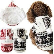 Плюшевый уютный снежинка собака толстовка теплая мягкая куртки животных пальто зима