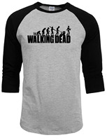 2016 New The Walking Dead T Shirt Mens Summer Autumn Print 100 Cotton Men T Shirt