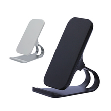 10W Qi Wireless Charger Quick Charging Vertical Mobile Phone Desk Stand 2-Coils Fast With LED Lights