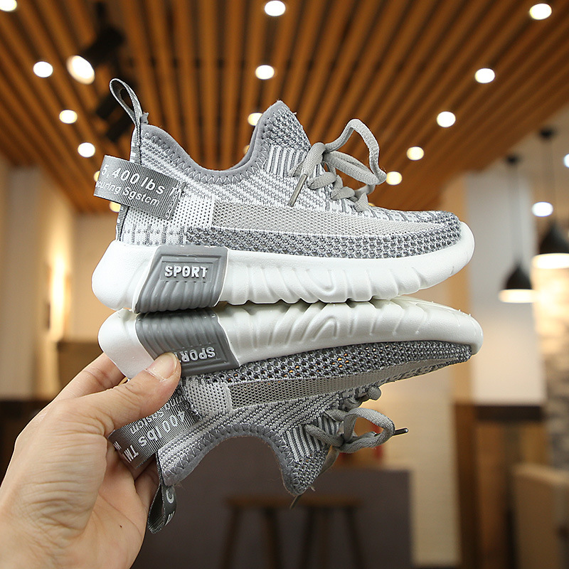 Casual Fashion Breathable Knit Slip Wear Sneakers 1