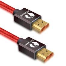 Kabel HDMI HDMI na HDMI 2 0 kabel 4 K dla Xiaomi żarówka jak nintendo Switch PS4 telewizji TVBox xbox 360 1 m 2 m 3 m 5 m kabel HDMI tanie tanio Mężczyzna Mężczyzna YJ-HH12 Kable HDMI Złącze HDMI 2 0 a Dla ipoda Komputer Multimedia Monitor Odtwarzacz dvd Projektor Telewizja TV BOX