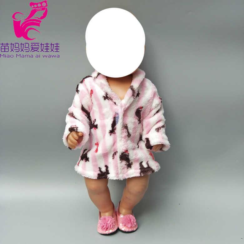 43 см bebe born кукла зимний банный халат 18-дюймовая кукла зимняя одежда Кукла аксессуар детей подарок на Новый год куклы