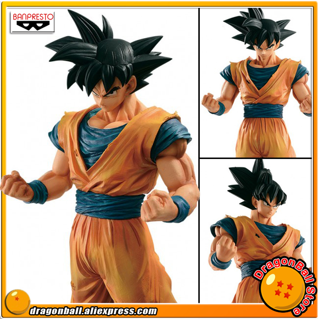 Japan Anime Dragon Ball Z Original Banpresto Resolution of Soldiers Grandista Vol.4 Collection Figure - Son Goku (Gokou) sale original banpresto ros resolution of soldiers grandista collection figure super saiyan son goku gokou dragon ball z 28cm