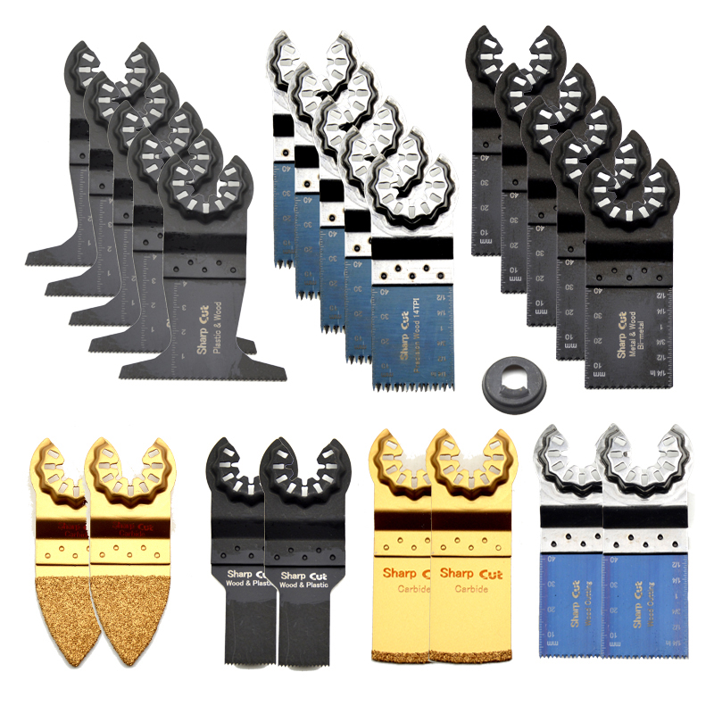 30 Off 23pcs Starlock Oscillating Multi Tools Saw Blades For Plunge Saw Machine Multimaster Power Tools