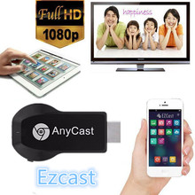 chrome cast AnyCast M2 WiFi Display Receiver DLNA AirPlay Miracast Dongle TV Stick for Windows Android iOS Mac Device HDMI 1080P