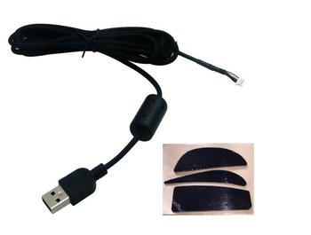 New Original logitech G9X G9 mouse USB cable USB mouse wire & Mouse Feet  free shipping