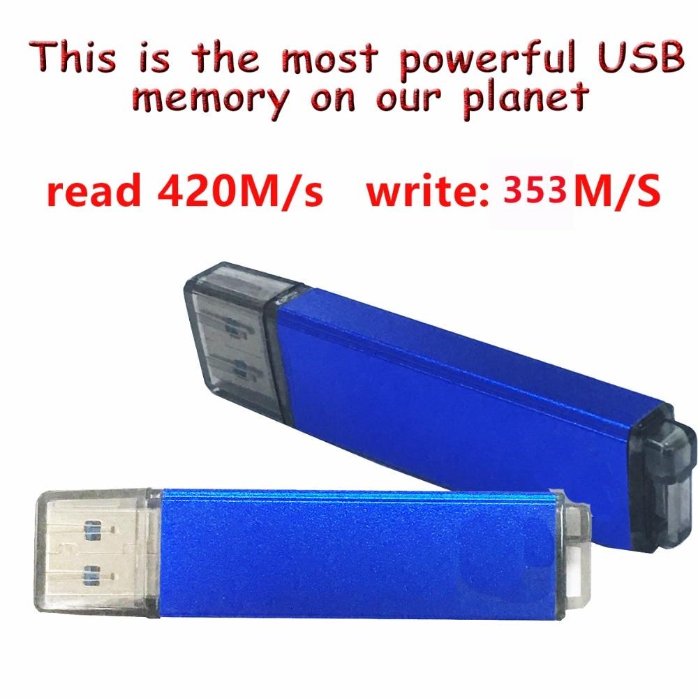 Fait à la main MLC FLASH FUSB SSD U disque portable SSD 128 GB 4 K haute vitesse peut installer le système d'exploitation USB boot.