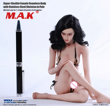 full set figure for collectiion 1/6 pale doll PLMB2014-S01 Phicen female gril young lady seamless body 12 PH  with head