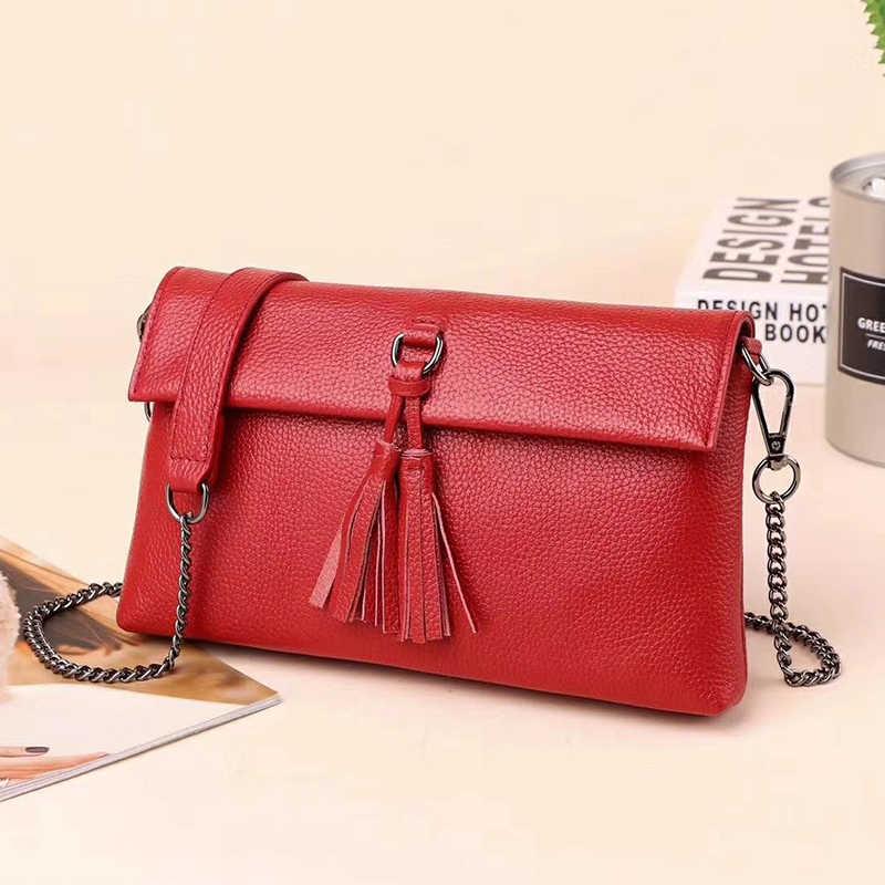 Marca de luxo saco para as mulheres couro genuíno crossbody sacos para as senhoras bolsa ombro bolsas mensageiro sling saco embreagem 2019