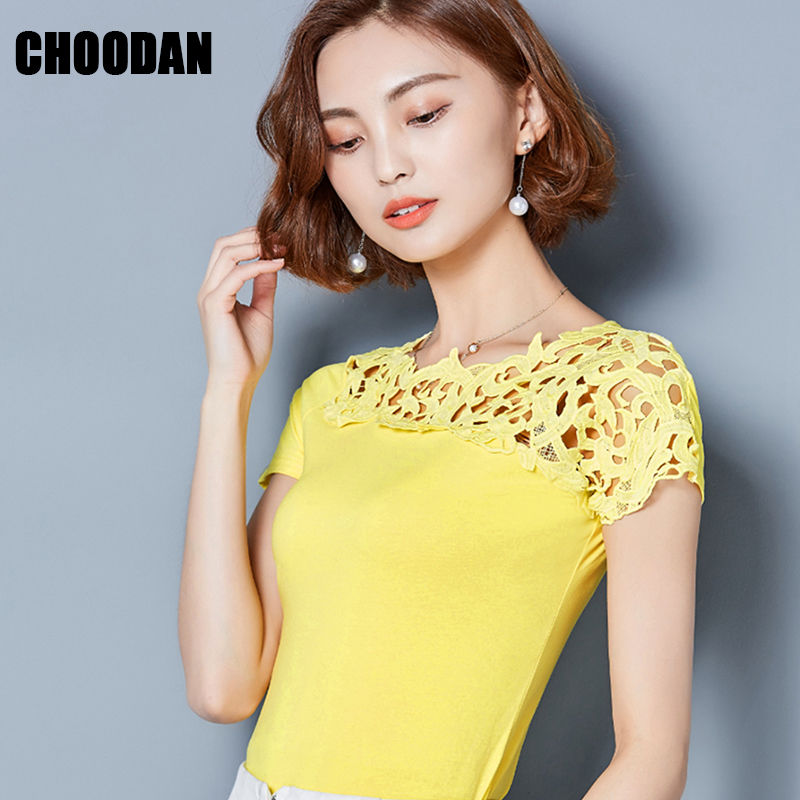 d03d1544183 Detail Feedback Questions about Summer Tops For Women 2018 Blouse Shirt  Cotton Lace Patchwork Short Sleeve Shirt Ladies Brand New Korean Fashion  Clothing on ...