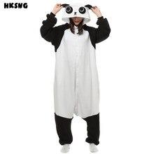 Hksng dos desenhos animados kungfu panda pijamas footie onesies animal kigurumi cosplay halloween natal pijamas traje para adultos