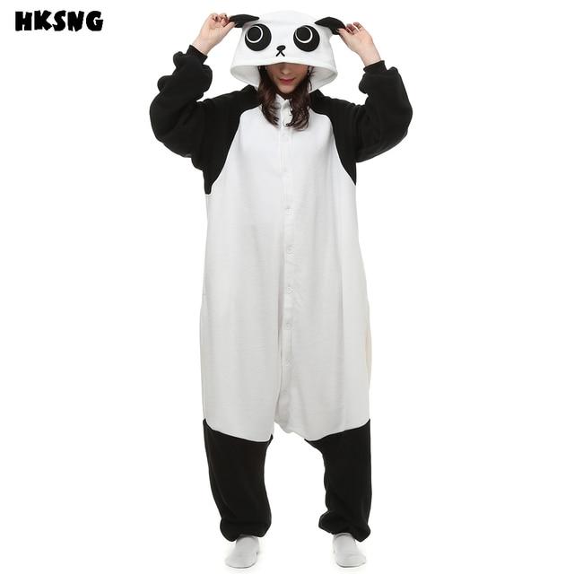Hksng Cartoon Kungfu Panda Pajamas Footie Onesies Animal Kigurumi