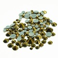 Mixed sizes glass crystal hotfix rhinestones flatback good quality  for nail art decoration  Approx 300-400 pieces one pack