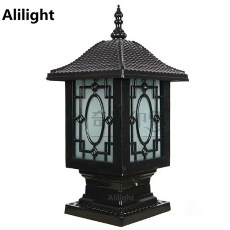 Chinese Traditional Lantern Decor Aluminum
