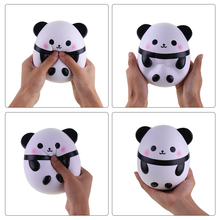 Panda Shaped Squishy Toy