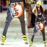 Newest HipHop Women Half Tiger Casual Harem Baggy Dance Sweat Pants Trousers Slacks