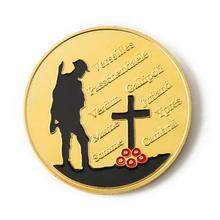 Gold Plated The Great War Commemorative Coin Art Collection Collectible Serve As A Souvenir And Collective Gift Decor