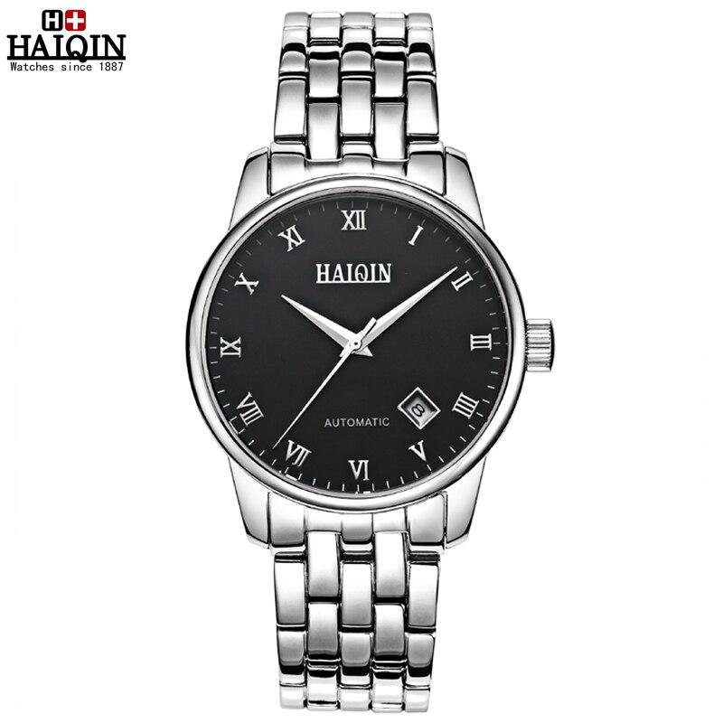 ФОТО Top Brand HAIQIN Original WristWatch Men Fashion Casual Wrist watches Luxury automatic mechanical Wrist watch