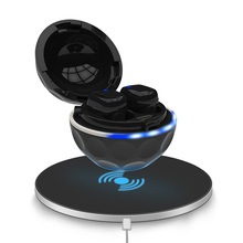 T3 Wireless Bluetooth Earphone Waterproof IPX7 earbuds Wireless charging Bluetooth5.0 with charge box for sport awei t3 twins wireless earbuds earphone bt5 0 with charging box 18jun18 drop ship f