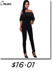f1fa369800 2016 New Fashion Off Shoulder Black Women Jumpsuit Long Macacao Backless  Feminino Rompers Womens Jumpsuit Plus Size S-XL