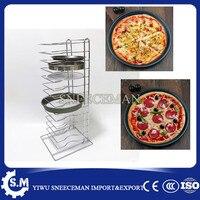14 camadas de prateleiras prateleiras racks de refrigeração de pizza pizza pizza pizza grill grids