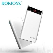 2017 New Arrival Original ROMOSS 20000mAh Sense 6P Power Bank External Battery Pack Backup Charger Bank Power LED Display 2 USB
