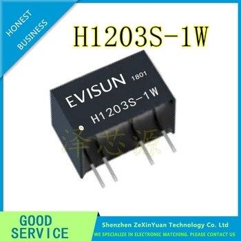 2PCS/LOT H1203S-1W H1205S-1W H1209S-1W H1212S-1W H1215S-1W H1224S-1W SIP-4 NEW Power module фото