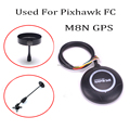 Ublox NEO M8N GPS Module With Compass & GPS holder seat Special For Pixhawk4 Pix Pixhawk 2.4.8 Flight-Controller board