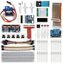 Ultimate SmartHome System Internet of Things Kit for Raspberry Pi3 RPI3 DIY IOT With Breadboard Servo Motor PWN Drive Sensor