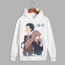 EINE Stille Stimme Nishimiya Shouko Cosplay Koe Keine Katachi ishida shouya Drucken Pullover hoodie sweatshirts Fleece Hoody für Herbst