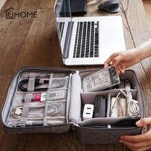 Портативная дорожная сумка для хранения органайзер цифровых