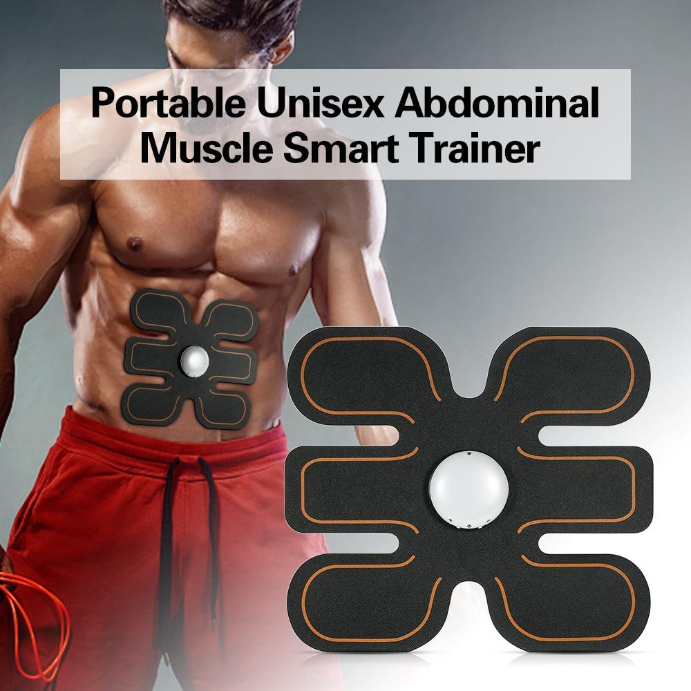 Abdominal Muscle Training Stimulator Device Fitness Gear Abdominal Muscle Trainer Home Gym Professional Body Slimming Massager