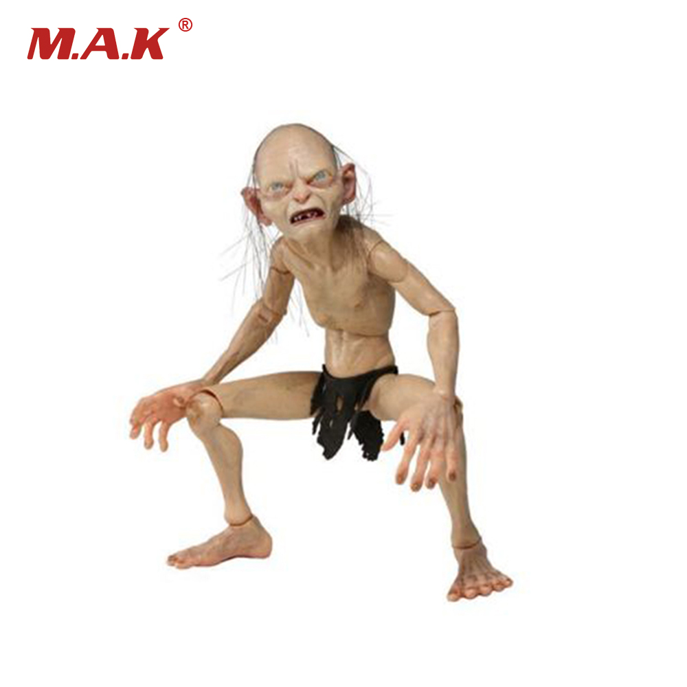 Action Figure Model Toys 1/4 Scale Lord of the Rings Gollum Smeagol Movable Model Toys For Children Gifts Collections 1 6 3r did gm617 2nd edition hermann goering head of the luftwaffe blue uniform action figure toys collections m3