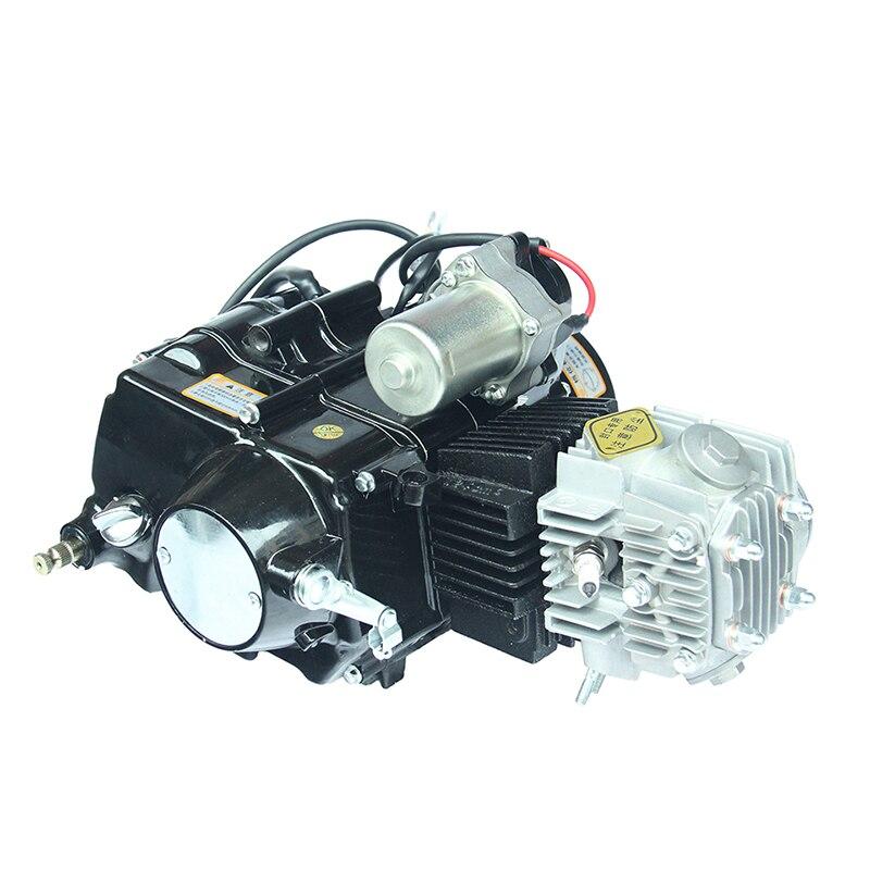 Mini Motor terenowy 110cc elektryczne stóp uruchomić silnik wysokowydajny aluminiowy motocykl silników dla Mini Motor terenowy FDJ-006
