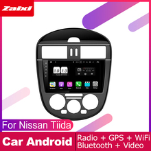 ZaiXi For Nissan Tiida C12 Pulsar 2011~2015 Car Android Multimedia System 2 DIN Auto Player GPS Navi Navigation Radio Audio цены