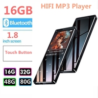 2019 Hot Sale High Quality Lossless HIFI Bluetooth MP3 Player Touch Key Supports TF Card/FM Radio MP3 Music Player