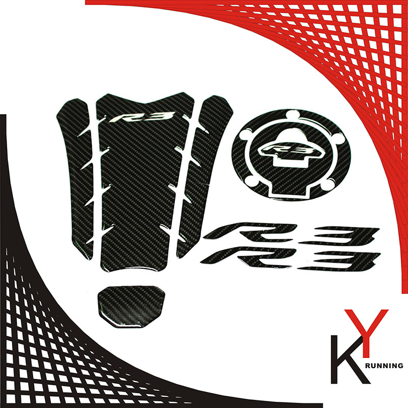 Motorcycle Tank pad//Grips Protector Sticker//Protective Pad for Yamaha MT09 MT 09 MT-09 //FZ-09 2014 2015 2016 by NAHASU Decals /& Stickers