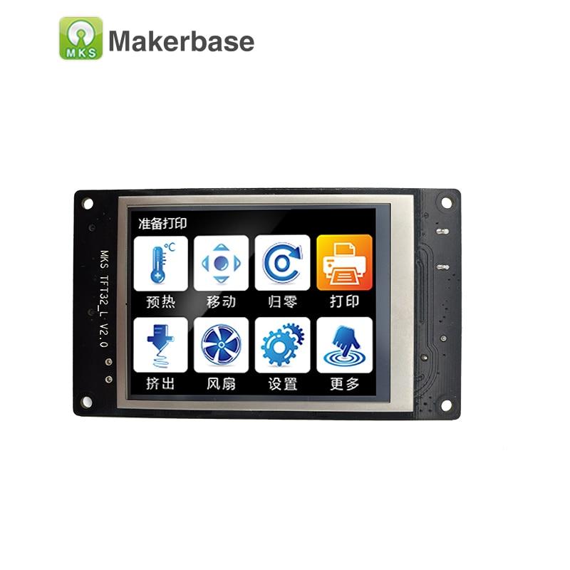 Affichage intelligent de contrôleur d'écran tactile de MKS TFT32 3.2 pouces CE et RoHS imprimante 3D support d'écran d'éclaboussure APP/BT/édition/langue locale - 2